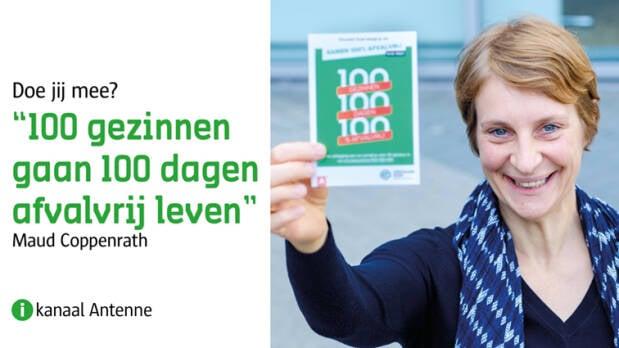 Uitnodiging voor Minder Afval campagne.