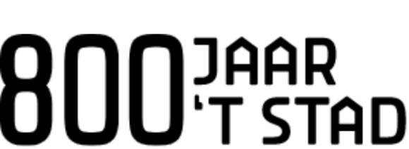 800 jaar logo