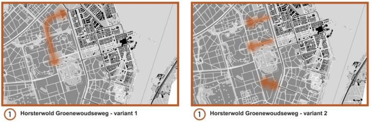 Schetstekening Horsterwold