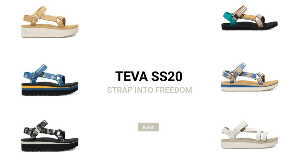 Teva SS20 the right SIZE #5 2019