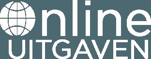 Online uitgaven logo wit