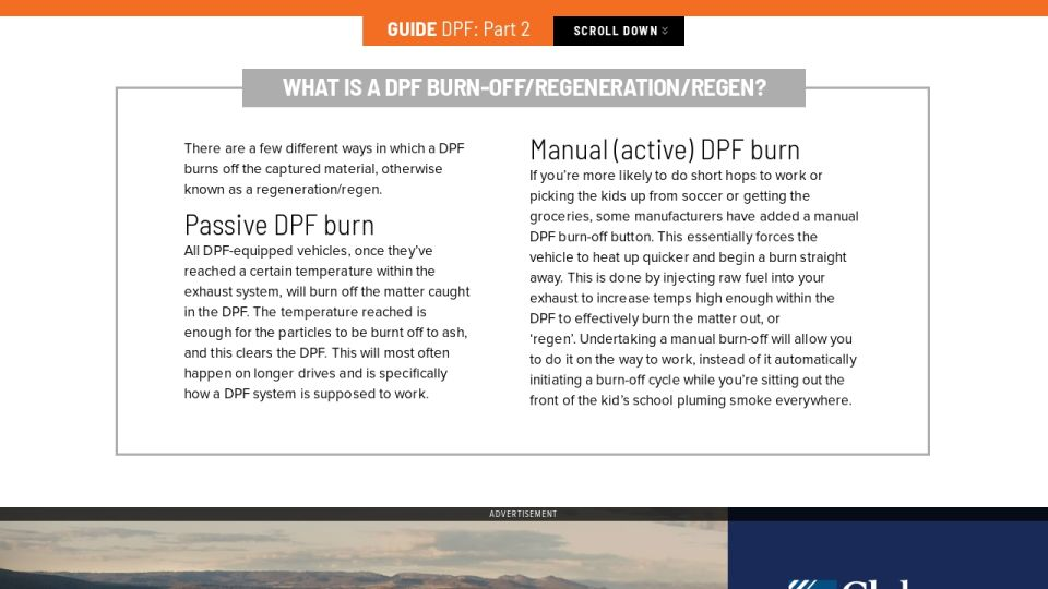 The essential guide to DPFs - Part 2 - Unsealed 4X4 - Issue 064