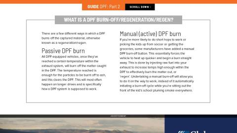 The essential guide to DPFs - Part 5 - Unsealed 4X4 - Issue 064