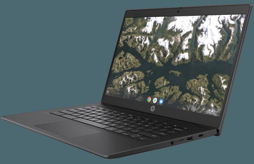 HP Chromebook pop up