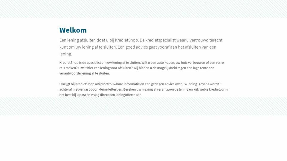 (c) Kredietshop.nl