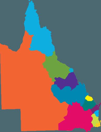 QLD MAP