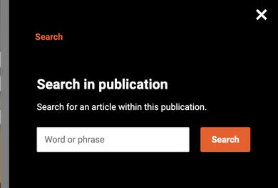 Search window