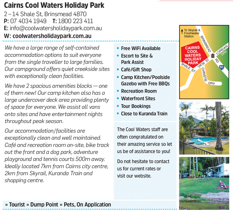 CairnsCoolWaters Listing