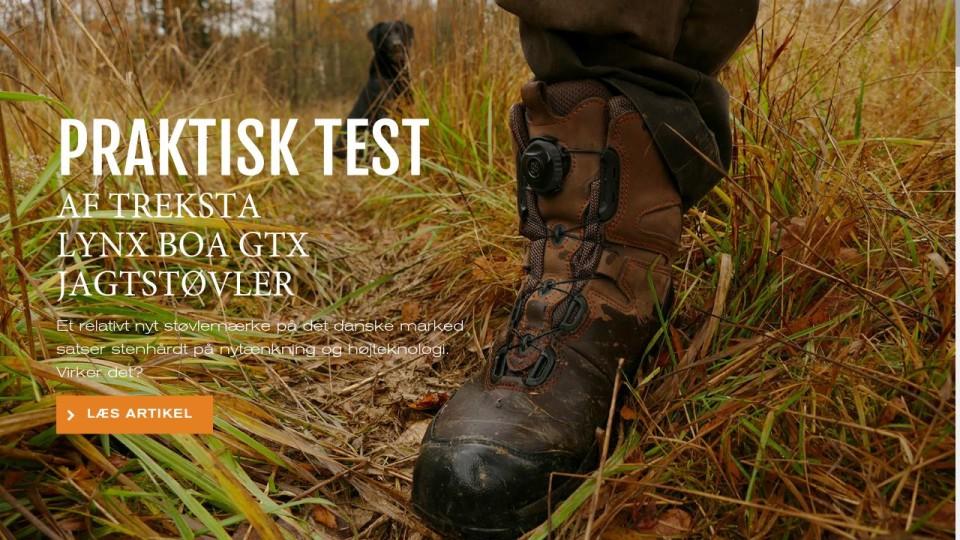 Praktisk test af Treksta Lynx BOA GTX jagtstøvler Mit