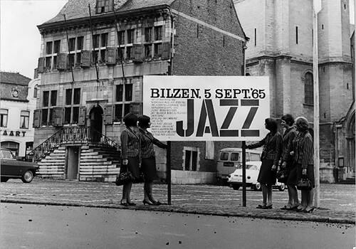 oude foto jazz bilzen