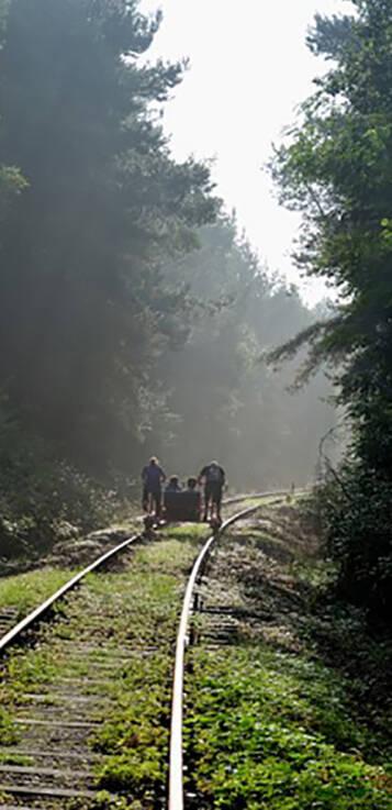 waaier railbike