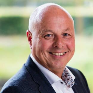 Portret van Douwe Jan Tilkema