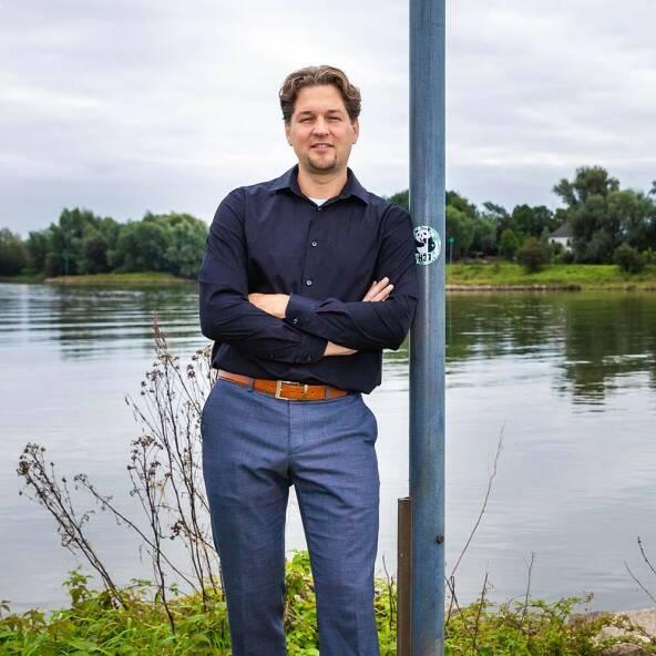 Foto van Martijn van Staveren (Klikbaar om zijn quote zichtbaar te maken)