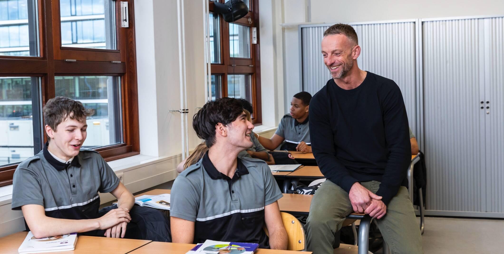 1. studenten in beeld