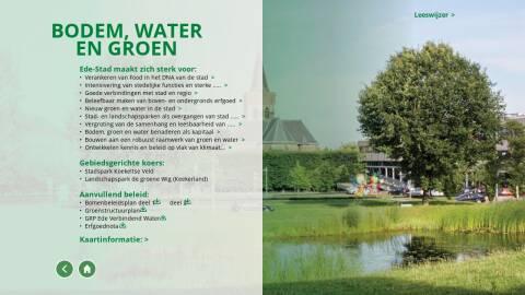 Bodem Water En Groen Stadsvisie Ede