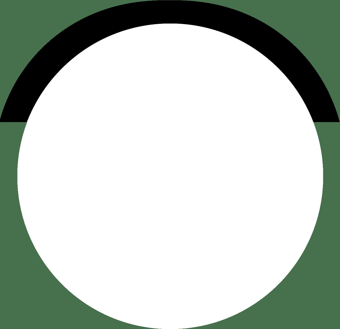 cirkel wit met shadow