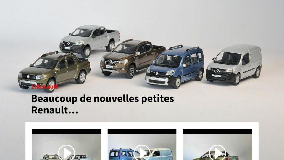 Losange No1 1 renault Miniatures Magazine 2018 Printemps 3FTlK1Jc